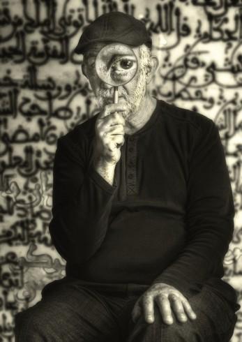 Luis Navarro - Emili Combalia - El ojo que lo ve todo.